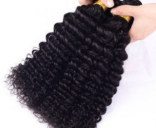 Load image into Gallery viewer, Malaysian Deep Curly Hair Extensions- Malaysian hair extensions, Extensions, Weave hair, Weaves, clip in hair extensions, hair weave, human hair weave, hair store. -Dynasty Goddess Hair