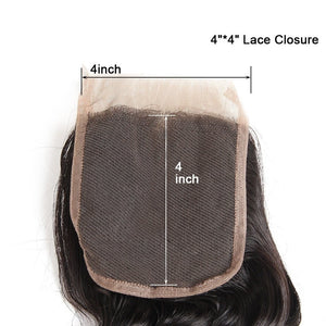 Mink Brazilian Lace Closure - Straight- Brazilian Hair Extensions, Arjuni hair, burmese hair, hair supplier, hair exporter, hair closure wefts, lace closure -Dynasty Goddess Hair