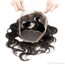 Load image into Gallery viewer, 360 Lace Frontal -Body Wave- Brazilian Hair Extensions, Arjuni hair, burmese hair, hair supplier, hair exporter, hair frontal wefts, 360 lace frontal -Dynasty Goddess Hair