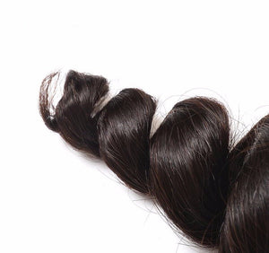 Peruvian Lace Frontals - Loose Curl- Peruvian Hair Extensions, Arjuni hair, burmese hair, hair supplier, hair exporter, hair frontal wefts, lace frontals -Dynasty Goddess Hair