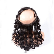 Load image into Gallery viewer, 360 Lace Frontal - Loose Deep Wave- Brazilian Hair Extensions, Arjuni hair, burmese hair, hair supplier, hair exporter, hair frontal wefts, 360 lace frontal -Dynasty Goddess Hair