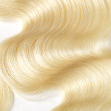 Load image into Gallery viewer, Russian Blonde 613 Lace Frontal - Straight- Blonde 613 Hair Extensions, Arjuni hair, burmese hair, hair supplier, hair exporter, hair closure wefts, lace closure -Dynasty Goddess Hair