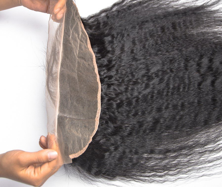 Cambodian Lace Frontals - Kinky Straight- Cambodian Hair Extensions, Arjuni hair, burmese hair, hair supplier, hair exporter, hair frontal wefts, lace frontal-Dynasty Goddess Hair