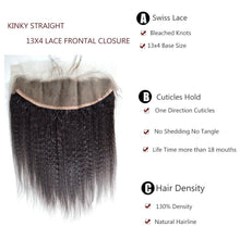 Load image into Gallery viewer, Cambodian Lace Frontals - Kinky Straight- Cambodian Hair Extensions, Arjuni hair, burmese hair, hair supplier, hair exporter, hair frontal wefts, lace frontal-Dynasty Goddess Hair