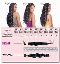 Load image into Gallery viewer, Mink Indian Straight Hair Extensions-Indian hair extensions, human hair wigs, natural hair, wavy hair, curly hair, straight hair, hair, wig, wigs, wig store-Dynasty Goddess Hair