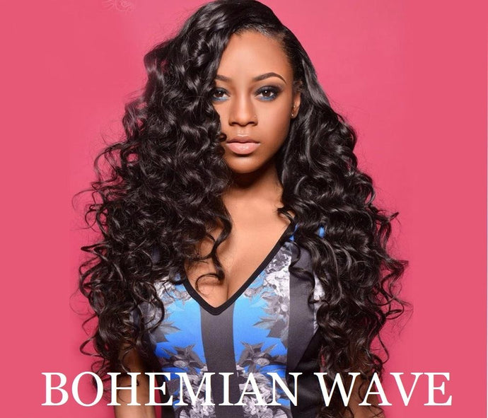 Bohemian hair extensions, human hair wigs, natural hair, wavy hair, curly hair, straight hair, hair, wig, wigs, wig store-Dynasty Goddess Hair