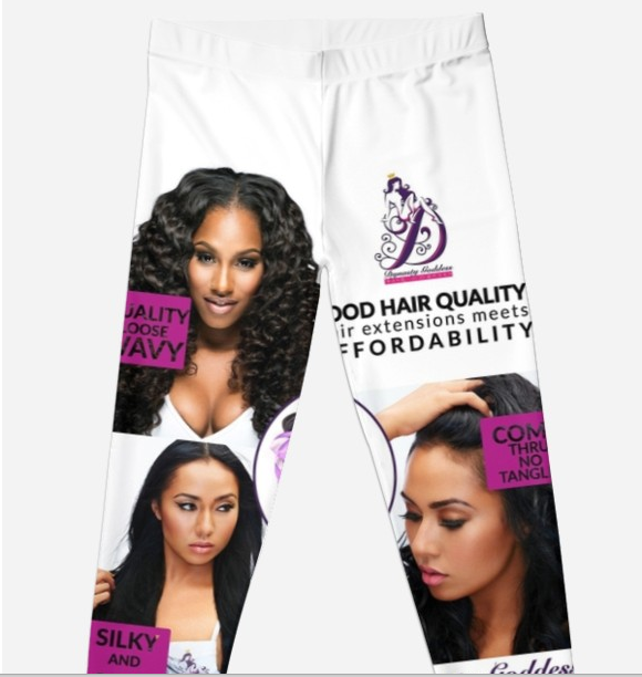 3 Pretty Ladies Leggings-Hair Extensions-Dynasty Goddess Hair-Dynasty Goddess Hair