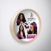 Load image into Gallery viewer, 3 Pretty Ladies Wall Clock-Hair Extensions-Dynasty Goddess Hair-Dynasty Goddess Hair