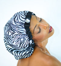 Load image into Gallery viewer, Premium Satin Hair Bonnet-Hair Extensions-Dynasty Goddess Hair-Dynasty Goddess Hair