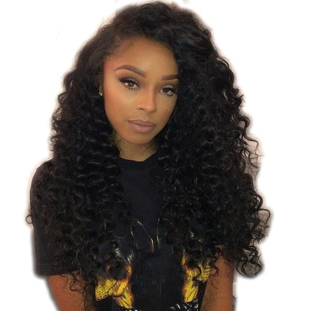 Brazilian Loose Deep Wave Full Lace Wigs- Brazilian Lace Front Wig Hair extensions, body wave, human hair wigs, natural hair, wavy hair, curly hair, straight hair, hair, wig, wigs, wig store -Dynasty Goddess Hair