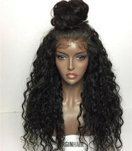 Load image into Gallery viewer, Brazilian Loose Deep Wave Full Lace Wigs- Brazilian Lace Front Wig Hair extensions, body wave, human hair wigs, natural hair, wavy hair, curly hair, straight hair, hair, wig, wigs, wig store -Dynasty Goddess Hair
