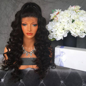 Brazilian Body Wave Full Lace Wigs- Brazilian Lace Front Wig Hair extensions, body wave, human hair wigs, natural hair, wavy hair, curly hair, straight hair, hair, wig, wigs, wig store -Dynasty Goddess Hair