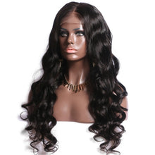 Load image into Gallery viewer, Brazilian Body Wave Lace Front Wig- Brazilian Lace Front Wig Hair extensions, body wave, human hair wigs, natural hair, wavy hair, curly hair, straight hair, hair, wig, wigs, wig store -Dynasty Goddess Hair