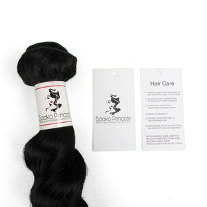Wholesale Hair Tags w/ Your Logo Package - 1000pcs- Brazilian hair extensions, human hair wigs, natural hair, wavy hair, curly hair, straight hair, hair, wig, wigs, wig store -Dynasty Goddess Hair
