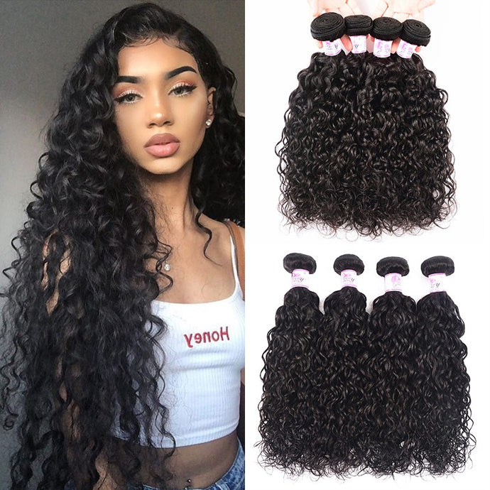 water wave Brazilian Hair Extensions, Arjuni hair, burmese hair, hair supplier, hair exporter, hair frontal wefts, 360 lace frontal-Dynasty Goddess Hair