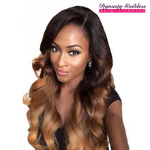 Load image into Gallery viewer, Ombre Brazilian hair extensions, human hair wigs, natural hair, wavy hair, curly hair, straight hair, hair, wig, wigs, wig store-Dynasty Goddess Hair