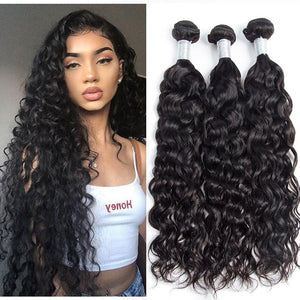 Water Wave Bundles, Brazilian Hair Extensions, Arjuni hair, burmese hair, hair supplier, hair exporter, hair frontal wefts, 360 lace frontal-Dynasty Goddess Hair