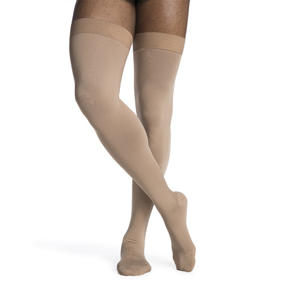 Sigvaris Men's Thigh High Compression Stockings