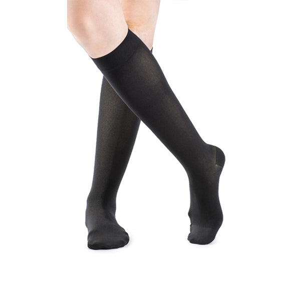 Sigvaris Women's Opaque Closed Toe Knee High