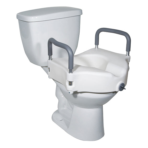 Drive Round Raised Toilet Seat