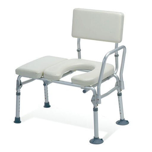 Guardian Transfer Bench - Padded With Commode Opening