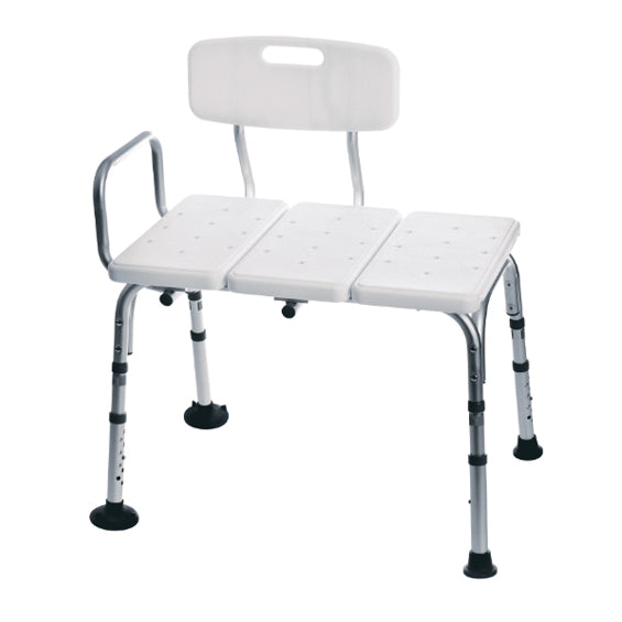 Medline Knockdown Transfer Bench with Microban