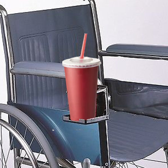 Deluxe Cup Holder For Rolling Walkers