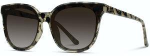 1005 Lucy Oversized Square Flat Lens Mirror Sunglasses for Women