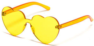 Wholesale Gold Heart Shaped Sunglasses