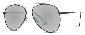 Modern Single Bridge Black Frame Wholesale Aviators