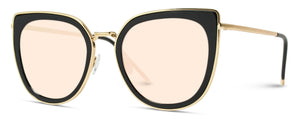 CAT041 Oversized Women's Cat-eye Sunglasses