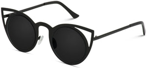 CAT045 Mirror Lens Cat-eye Sunglasses