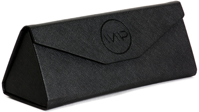 CASE01  Soft-Foldable Black Glasses Case