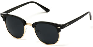 Gold Rimmed Thin Frame Polarized Wholesale Sunglasses