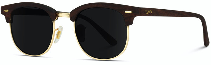 RET003 Retro Black Frame Sunglasses