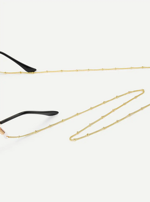 L501 Gold Metal Glasses Chain