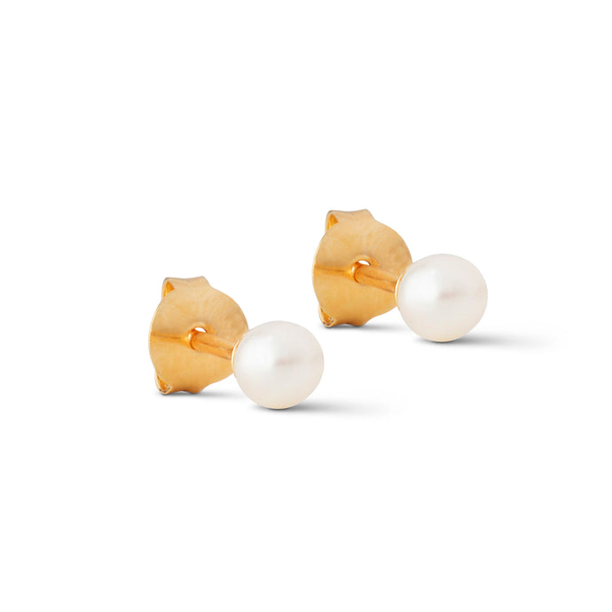 ENAMEL Copenhagen Stud, Coco Earrings 925S/GP