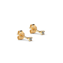 ENAMEL Copenhagen Stud, Ida Earrings 925S/GP