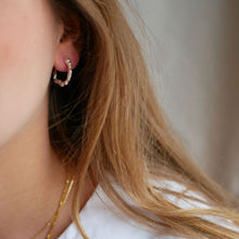 ENAMEL Copenhagen Hoops, Leone Earrings 925S/M