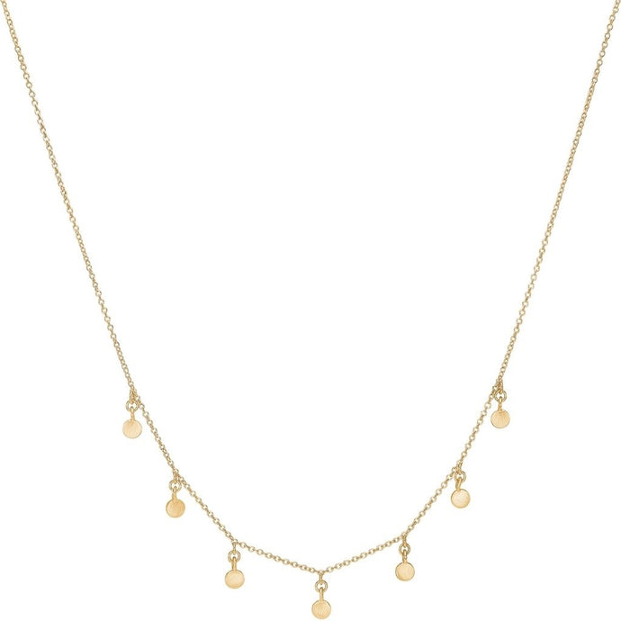 ENAMEL Copenhagen Choker, raindrops Necklaces 925S/GP/M