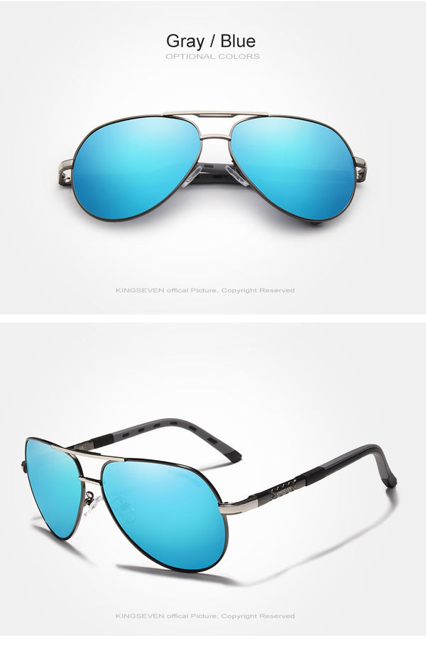 KINGSEVEN Vintage Polarized Sunglasses