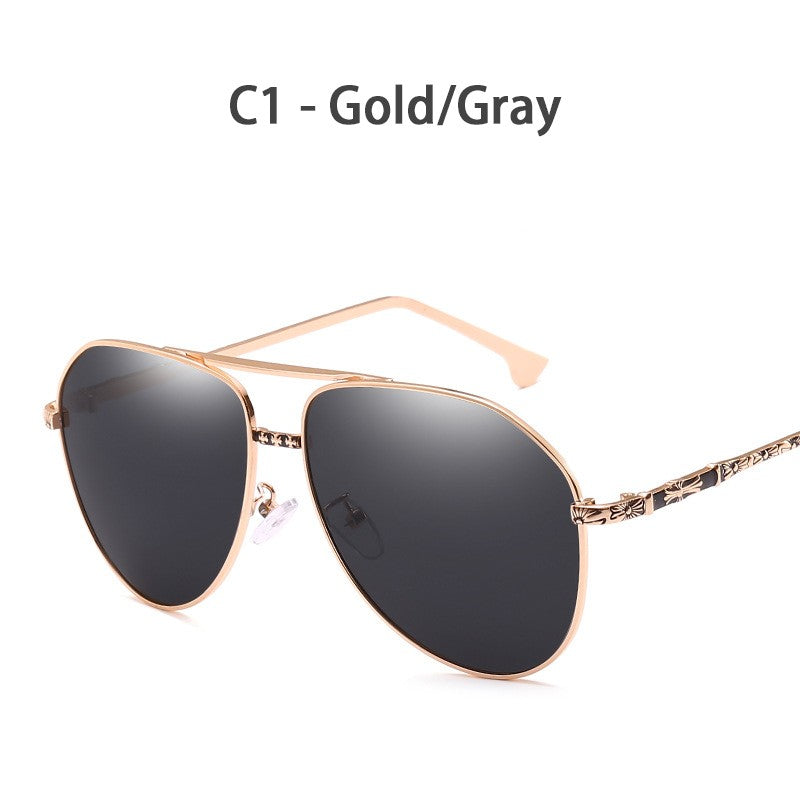 RTBOFY Polarized Aviator Sunglasses Metal Frame Driving Sun Glasses Men Women Pilot