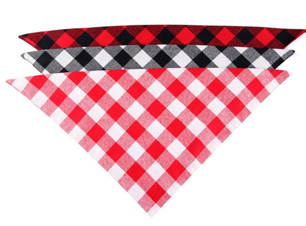 3 Pack Washable Dog Bandanas