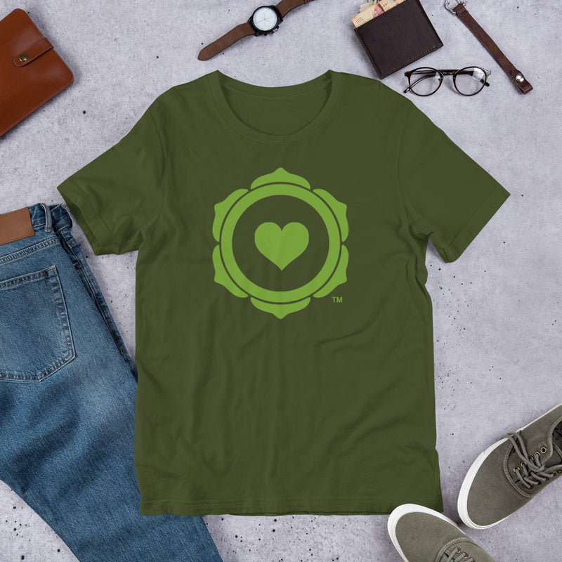 HEART CHAKRA STRONG™ Short-Sleeve Unisex T-Shirt