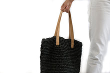 Load image into Gallery viewer, Beach bag in charcoal