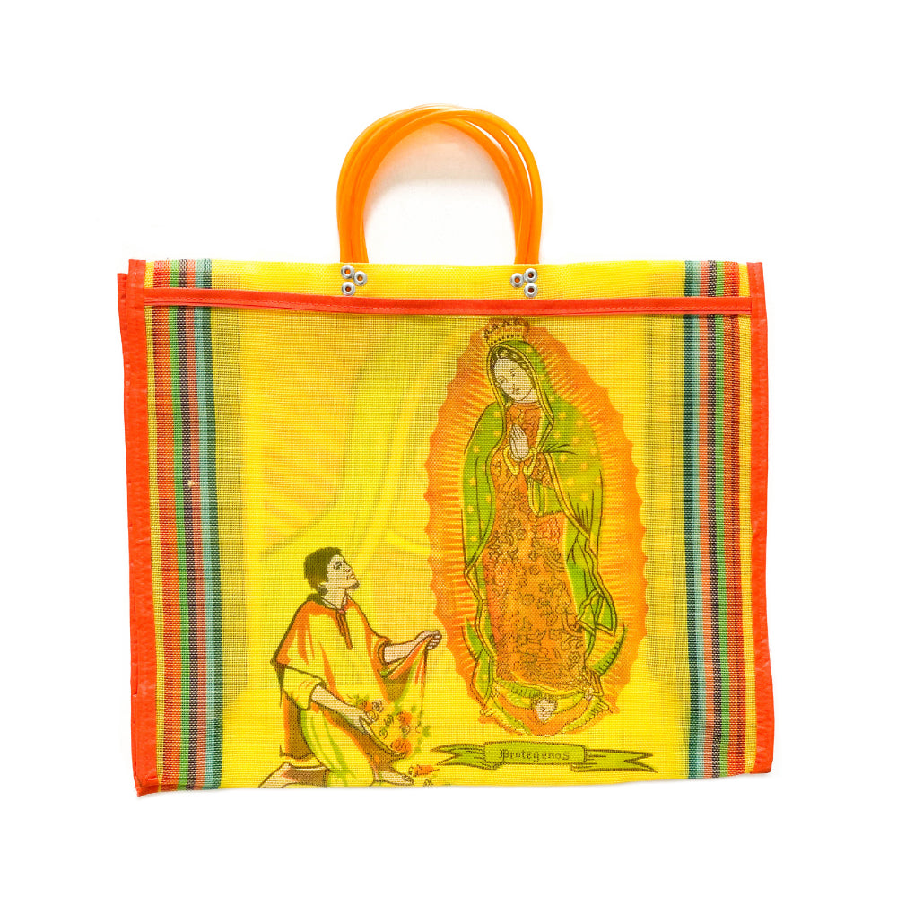 Guadalupe Mesh Mecardo Bag - Yellow
