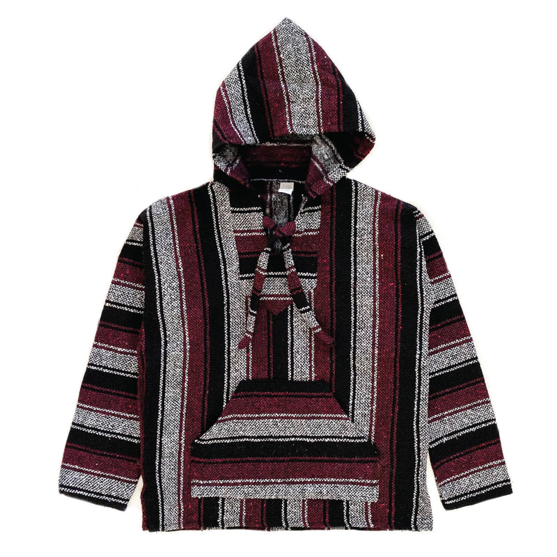 Men's Baja - Small Charcoal & Burgundy