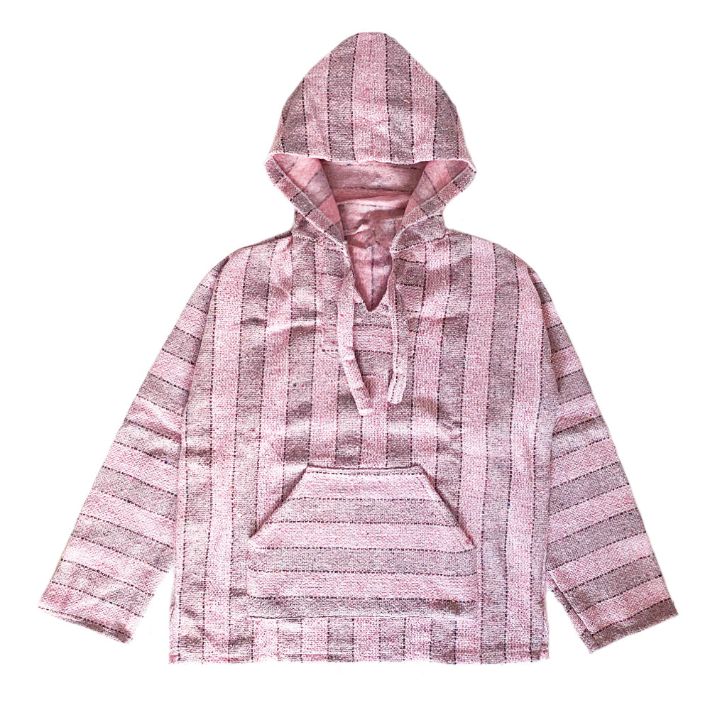 Men's Baja - Large Baby Pink Stripe