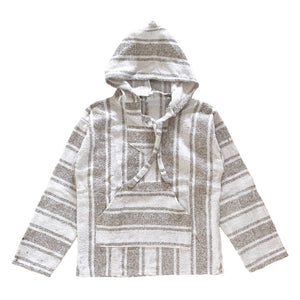 Men's Baja - Large Thick Beige Stripe