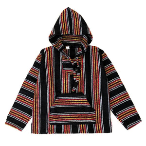 Men's Baja - XLarge Black With Red & Yellow Stripe